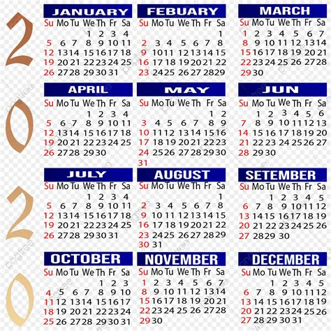 calendar  calendar calendar year png transparent clipart image  psd file