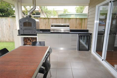 outdoor kitchen cabinets brisbane outdoor kitchen redcliffe modern exterior brisbane