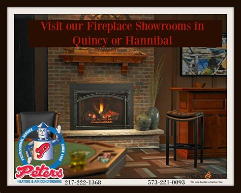 peters heating and air conditioning inc fireplaces gas