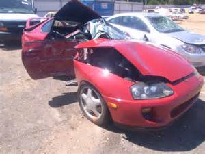 Toyota Supra Wrecked Salvage Toyota Supra For Sale In Chicago Criminal
