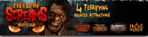 how much is a light ticket in washington state get tickets and information to field of screams haunted
