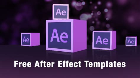 after effect template free after effects templates motionisland