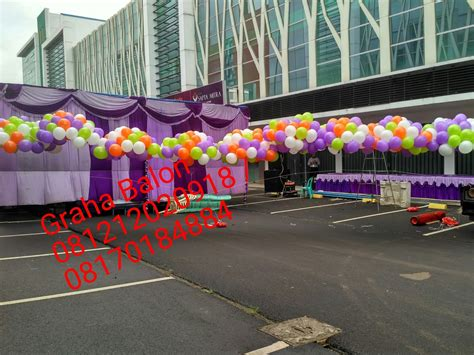 Gas Balon bogor dekorasi balon jual balon gas pelepasan bogor