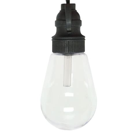 gki bethlehem 09648 25 light black wire mini edison warm