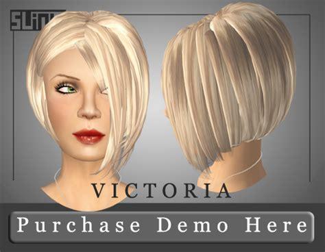 2 new hairstyles and a skin sneak peak!   Slink Style