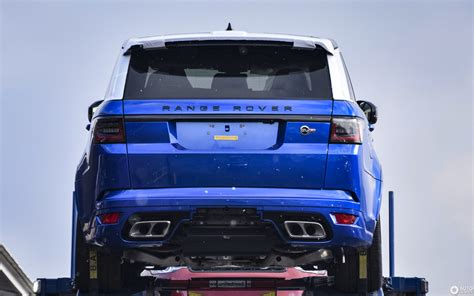 land rover svr price land rover range rover sport svr 2018 7 mrz 2018