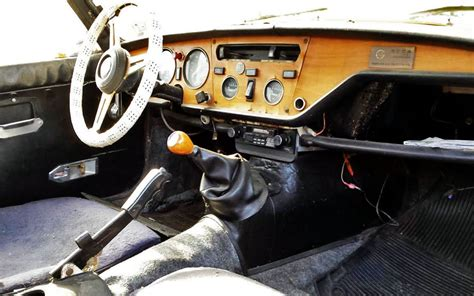 Triumph Spitfire Interior by Parts Car Included 1975 Triumph Spitfire