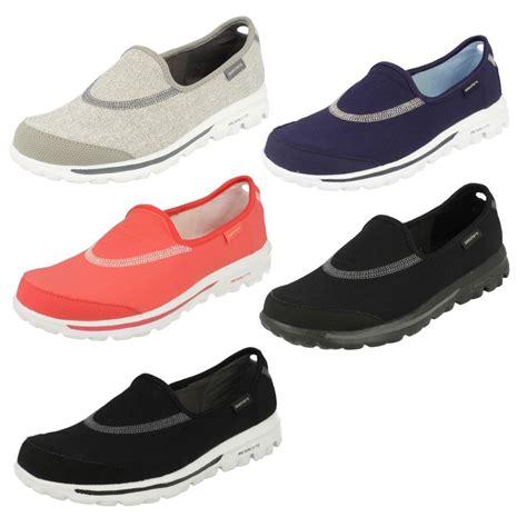 Skechers Gowalk3 Glitzen skechers walking shoes go walk ebay