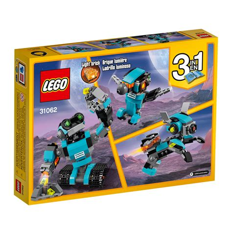 7 Lego Toys For 2010 by Lego Creator Robo Explorer 31062 Robot
