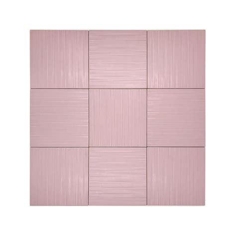 rivestimenti piastrelle piastrella da rivestimento parete rosa 20x20 di terza