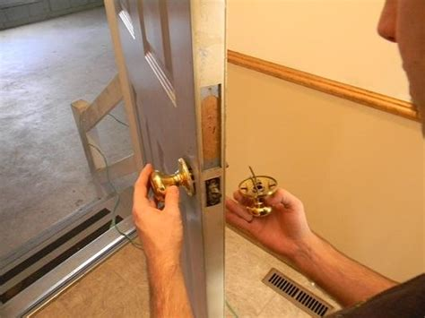 How To Replace A Front Door Knob by How To Replace A Door Knob With Your Own