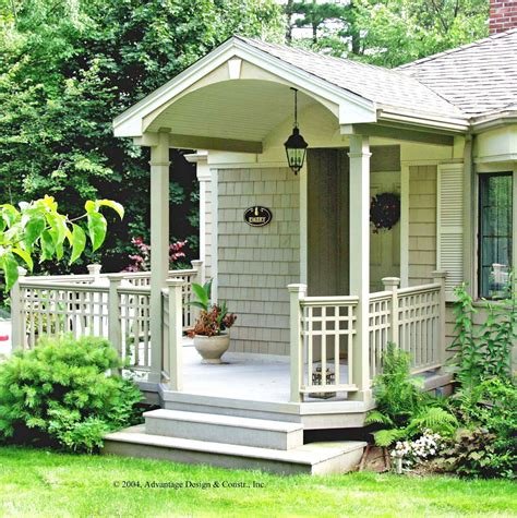 veranda design for small house front porches a pictorial essay suburban boston decks