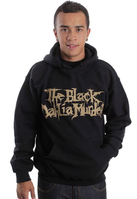 Hoodie Logo Go 1 the black dahlia murder logo hoodie impericon worldwide