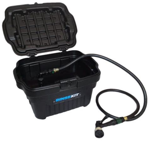 portable outdoor shower kit rinsekit portable shower weighs just 15 pounds comes with