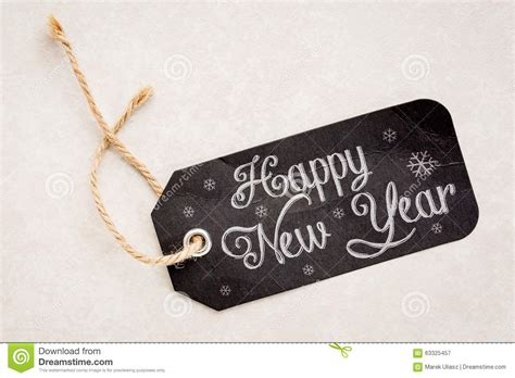 happy new year tags happy new year price tag stock photo image 63325457