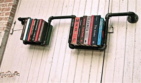 Industrial Floor L Bookshelf By Stella Bleu Designs by Industrial Pipe Bookshelves By Stella Bleu Designs
