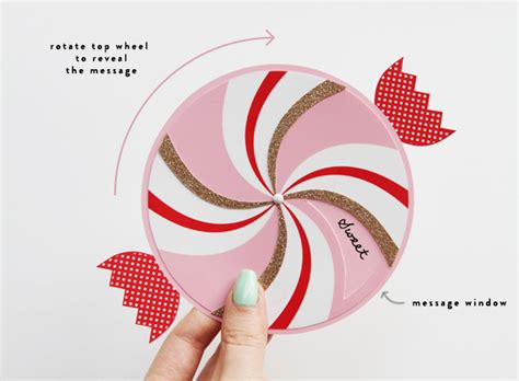 Rotating Wheel Card Template by Paper Wheel Greetings