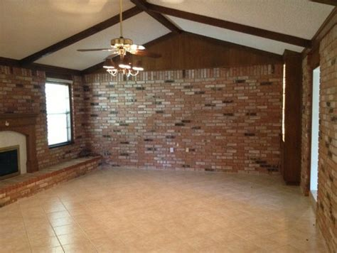 Living Room Brick Tiles Tons Of Brick In Living Room How To Brighten Up