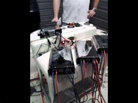 bass boat stereo install boat stereo install youtube