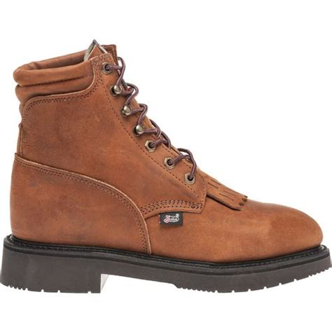 justin s aged bark work boots academy