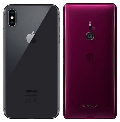 compare smartphones apple iphone xs max vs sony xperia xz3 cameracreativ