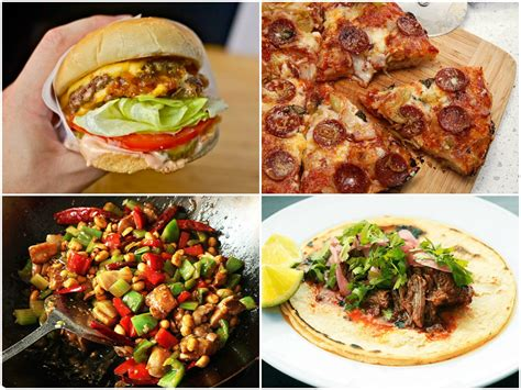 home made food 15 fast food and takeout favorites that are at least as as the