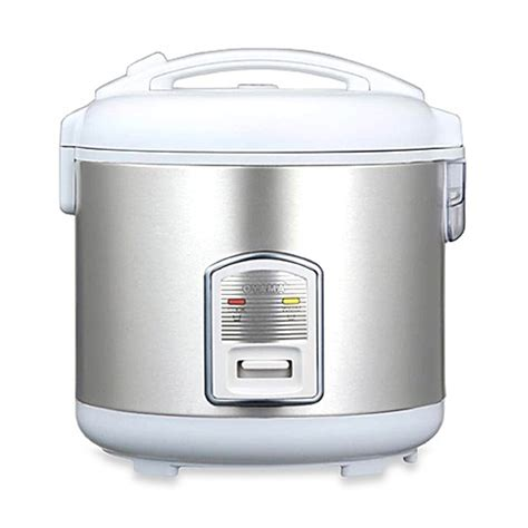 bed bath and beyond steamer oyama 7 cup healthy rice cooker and steamer bed bath