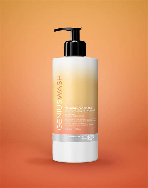 Detox Redken by Cleansing Conditioner For Unruly Hair Genius Wash Redken