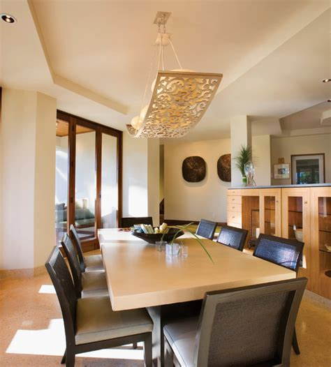 modern lighting for dining room corbett lighting