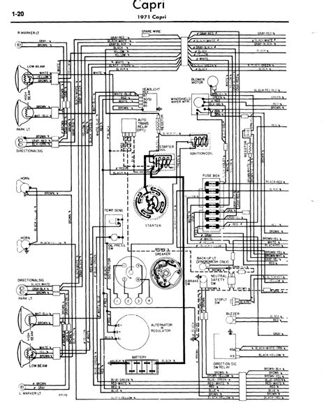 Need a wiring diagram for front and rear lights and