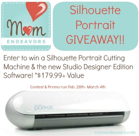 Silhouette Giveaway - silhouette portrait giveaway