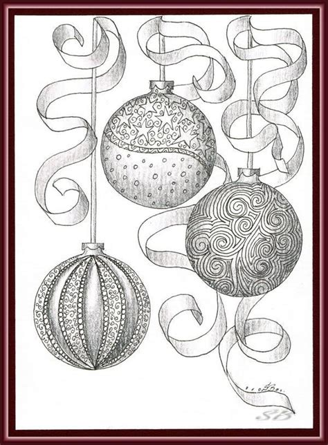 17 best images about xmas zentangles on pinterest