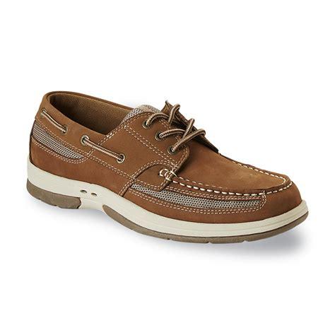 boat shoes kmart thom mcan men s kellan 3 tan boat shoe