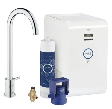 ilive blue cabinet system grohe blue mono chilled water filter tap appliance house