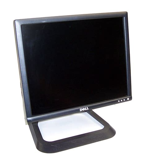Monitor Dell 17 Inch dell gc571 1706fpvt 17 inch lcd monitor black with optiplex 745 dctr stand b ebay