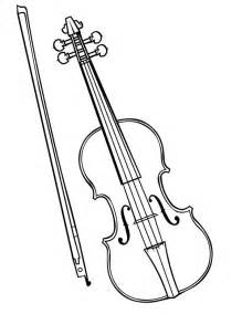 violin coloring pages violin is a musical instruments coloring pages bulk color