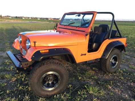orange jeep cj seller of cars 1978 jeep cj orange black