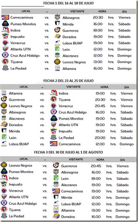 calendario liga mx apertura 2014 la tabla de la liga mx 2015 search results calendar 2015