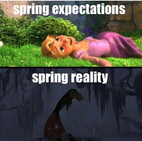 Spring Meme - winter how the hell did i end up here