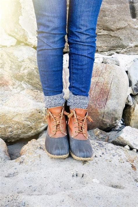 how to lace up bean boots how to tie bean boots the college prepster