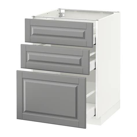 Metod Ikea Schubladen by Metod Maximera Unterschrank Mit 3 Schubladen Bodbyn