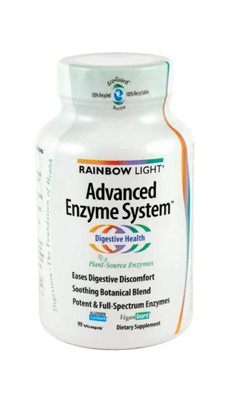 rainbow light advanced enzyme system amazon com rainbow light advanced enzyme system 90 vcaps