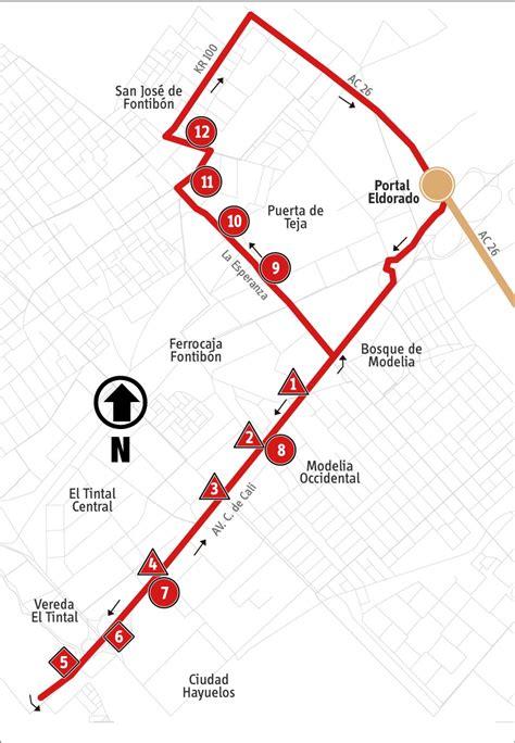 alimentadores sitp ruta 16 13 avenida cali hayuelos alimentador mirutafacil
