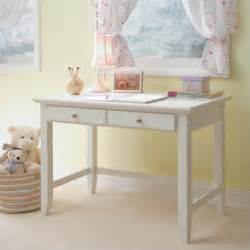 Home styles naples student desk in white finish 5530 16