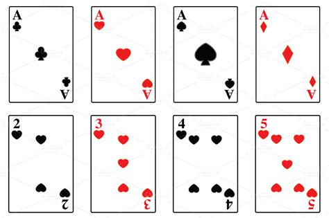 Playing Card Template Playbestonlinegames Deck Of Cards Template