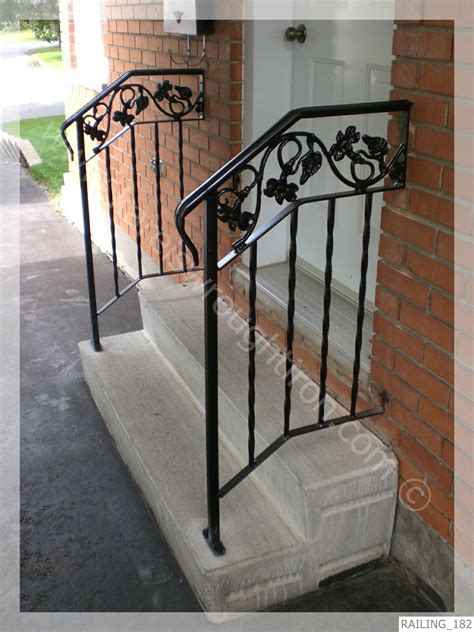 Wrought Iron Handrail Wrought Iron Railing Railing 182 Jpg