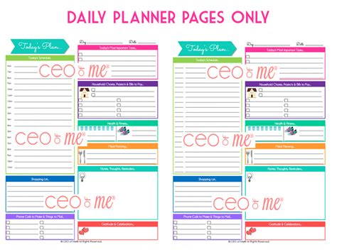 printable household planner pages search results for free printable 2015 planner direct