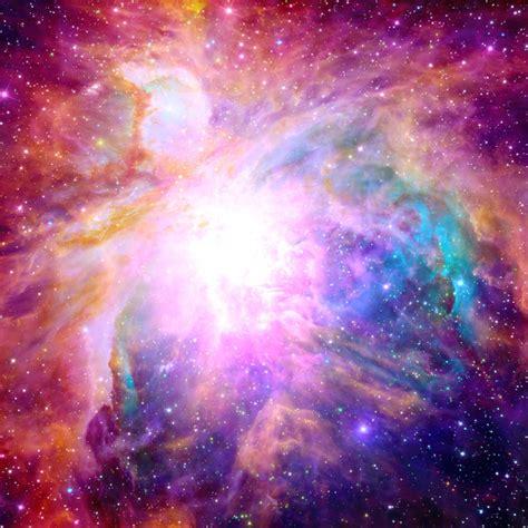 galaxy nebula art print by matt borchert society6