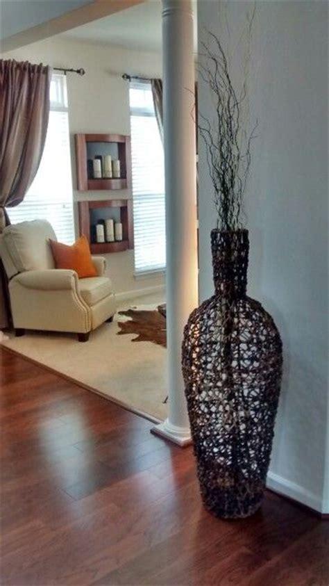 large wicker floor vase makehomeyours floor vase decor