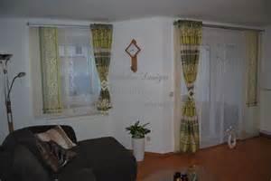 vorhänge kurz funvit wanduhr modern